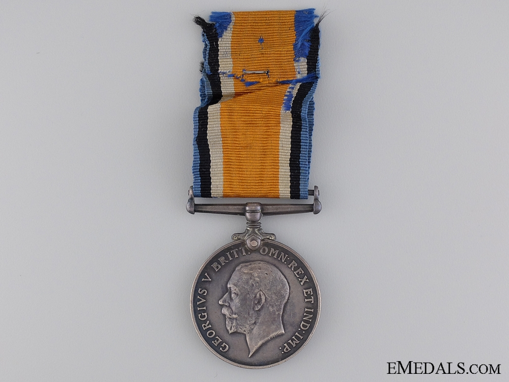 eMedals-WWI British War Medal to Private S. Bailey