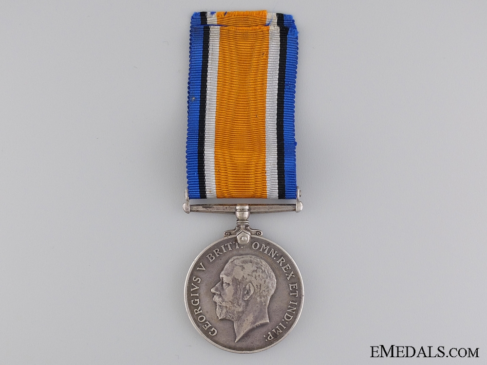 eMedals-WWI British War Medal to the 1st Battalion Cape Corp; KIA