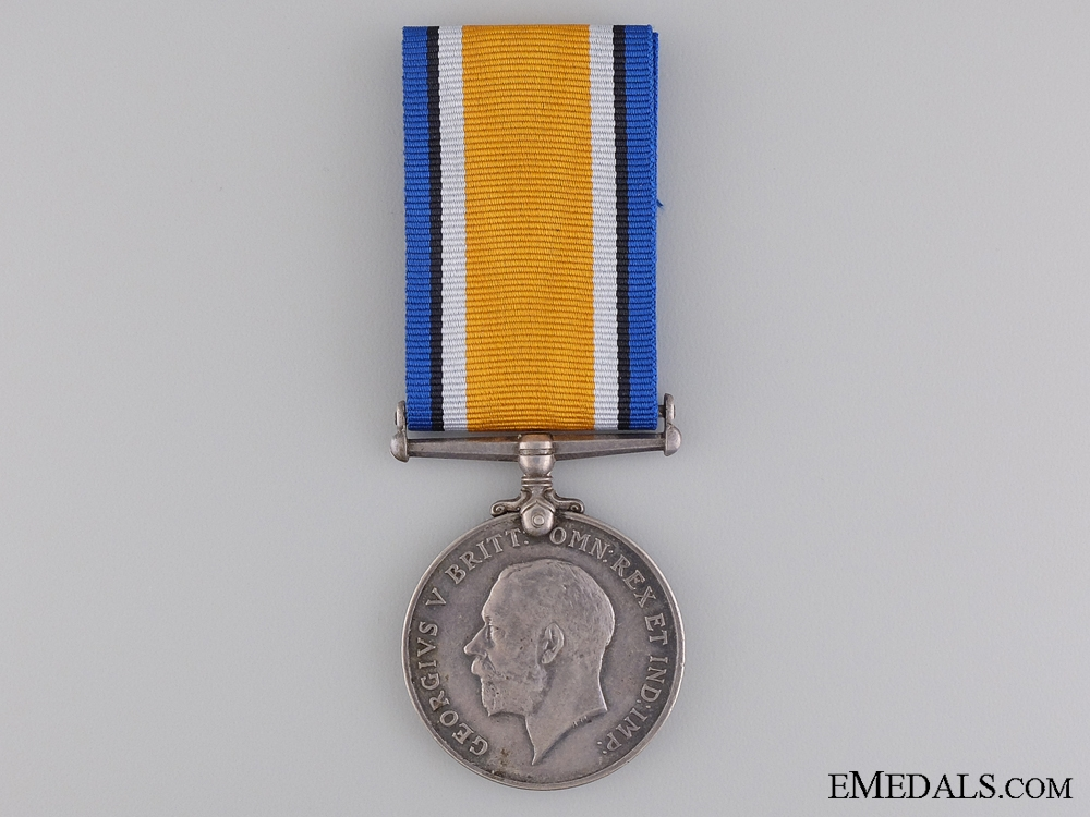 eMedals-WWI British War Medal to the Canadian Field Artillery