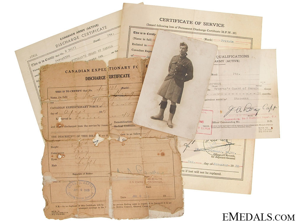 eMedals-WWI Canadian Documents - 37th Infantry CEF
