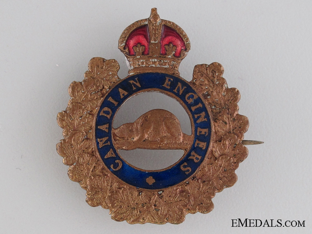 eMedals-WWI Canadian Engineers Sweetheart Pin CEF