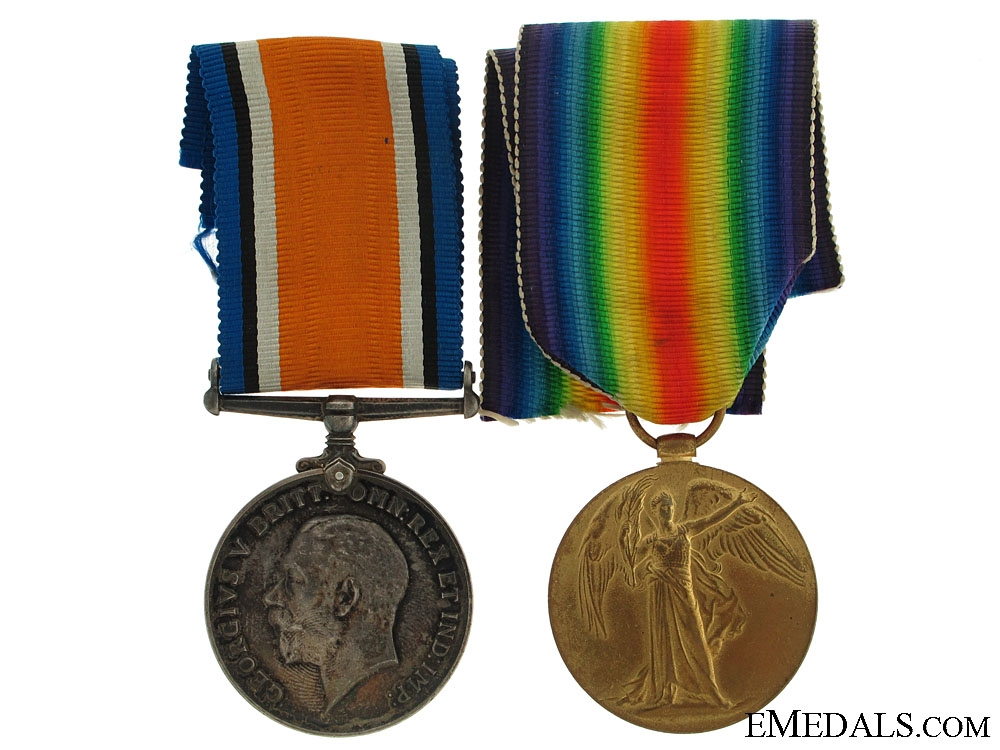 eMedals-WWI Canadian Pair to Pte.Sherman