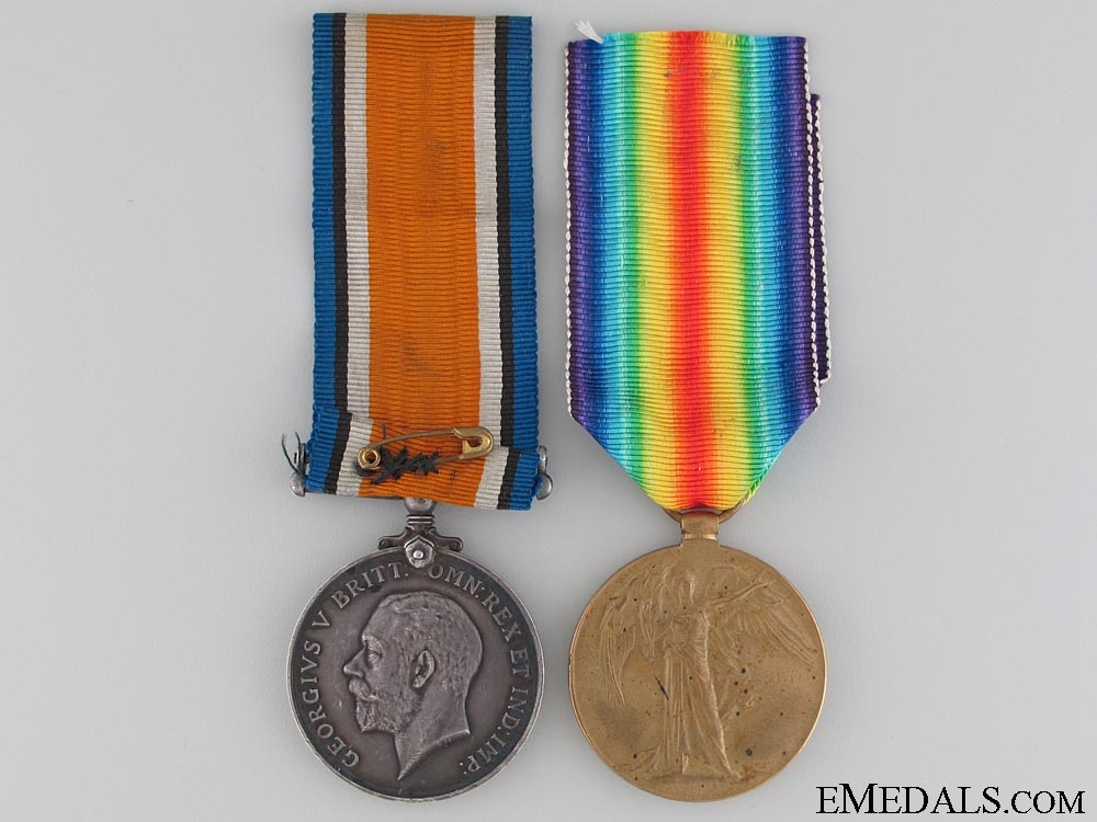eMedals-A First War Pair to the Canadian Pioneer Battalion
