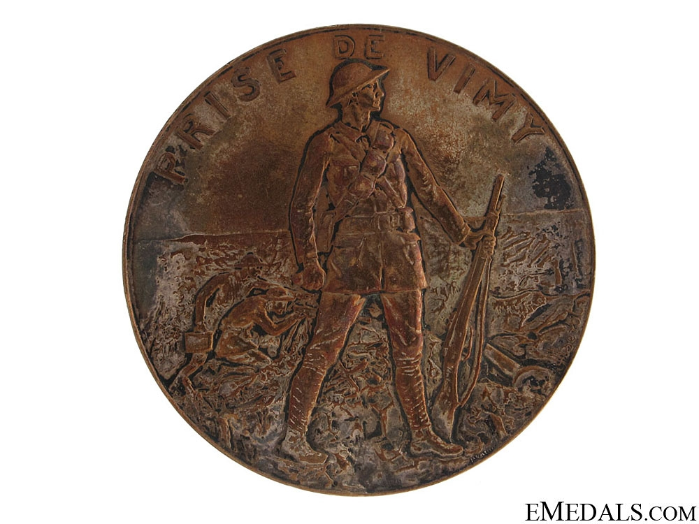 eMedals-WWI Capture of Vimy Ridge Medal