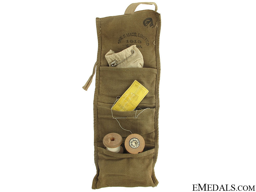 eMedals-WWI CEF Sewing Kit