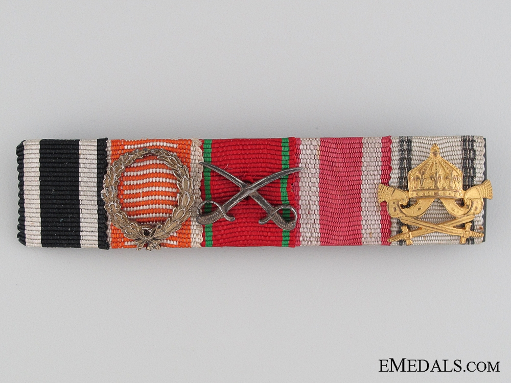 eMedals-WWI Central Powers Ribbon Bar