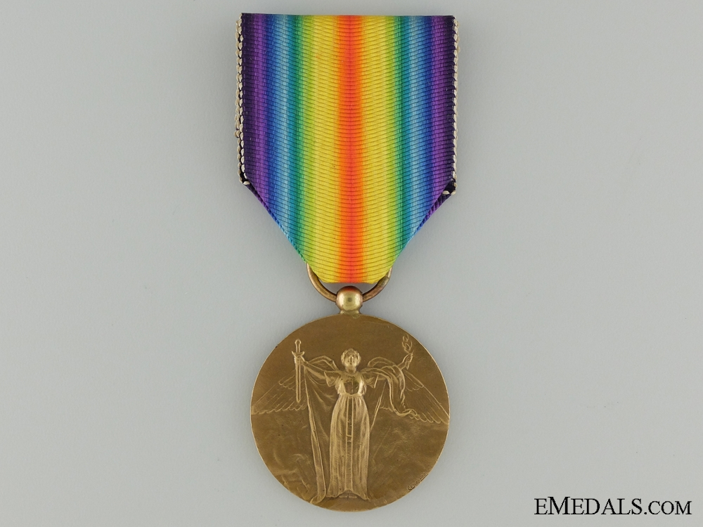 eMedals-WWI Cuban Victory Medal; Official Issue