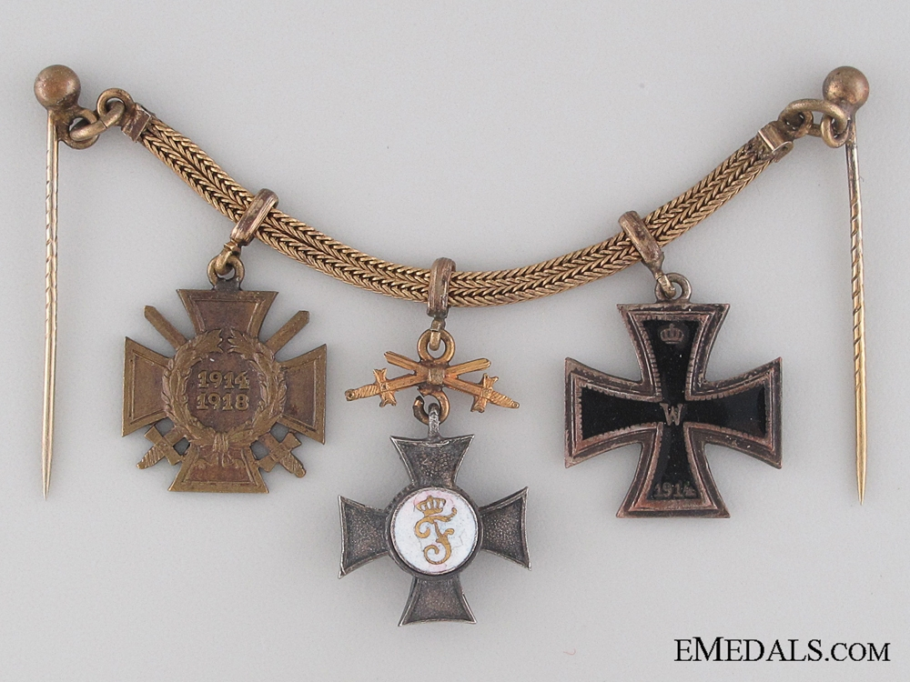 eMedals-WWI German Miniature Group