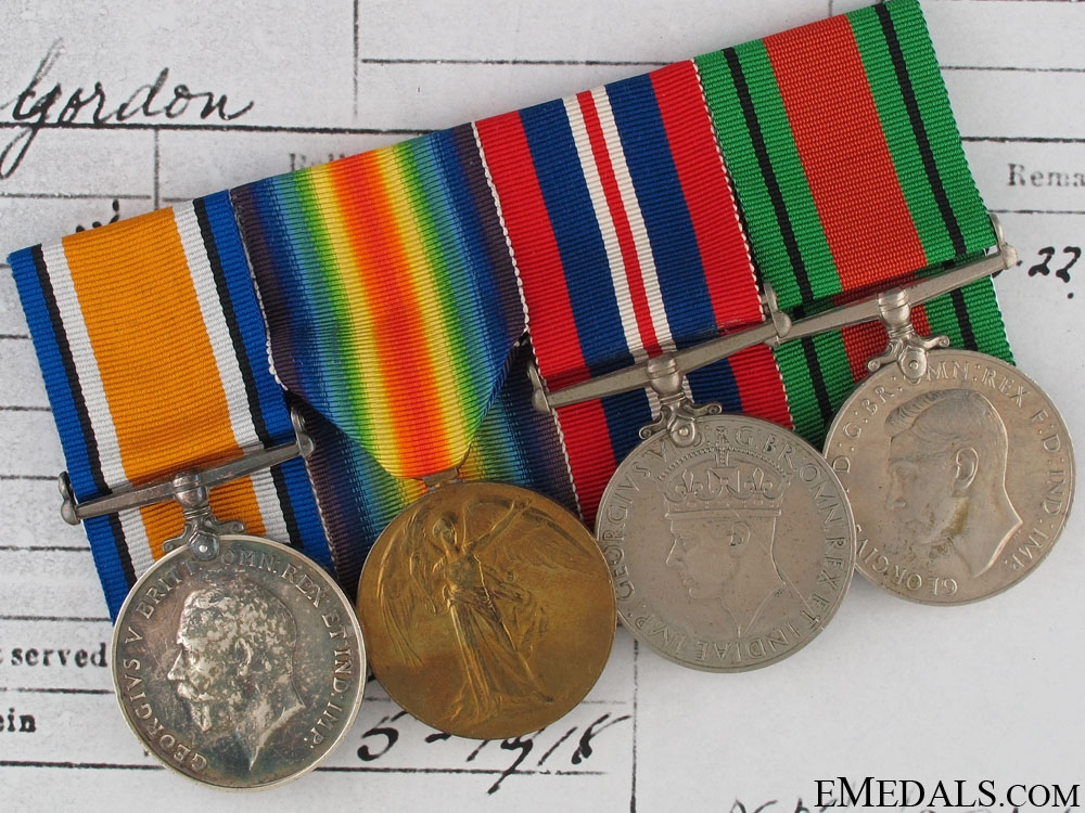 eMedals-WWI Group to 2nd Lieutenant A.G.Isbell RGA
