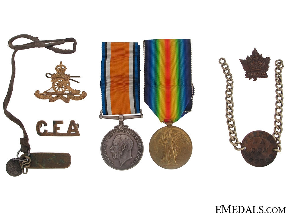eMedals-WWI Group to the Canadian Field Artillery