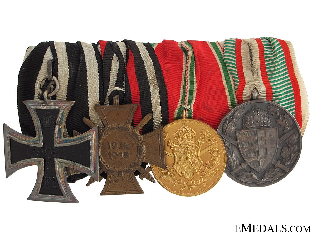 eMedals-WWI Hungarian Group of Four