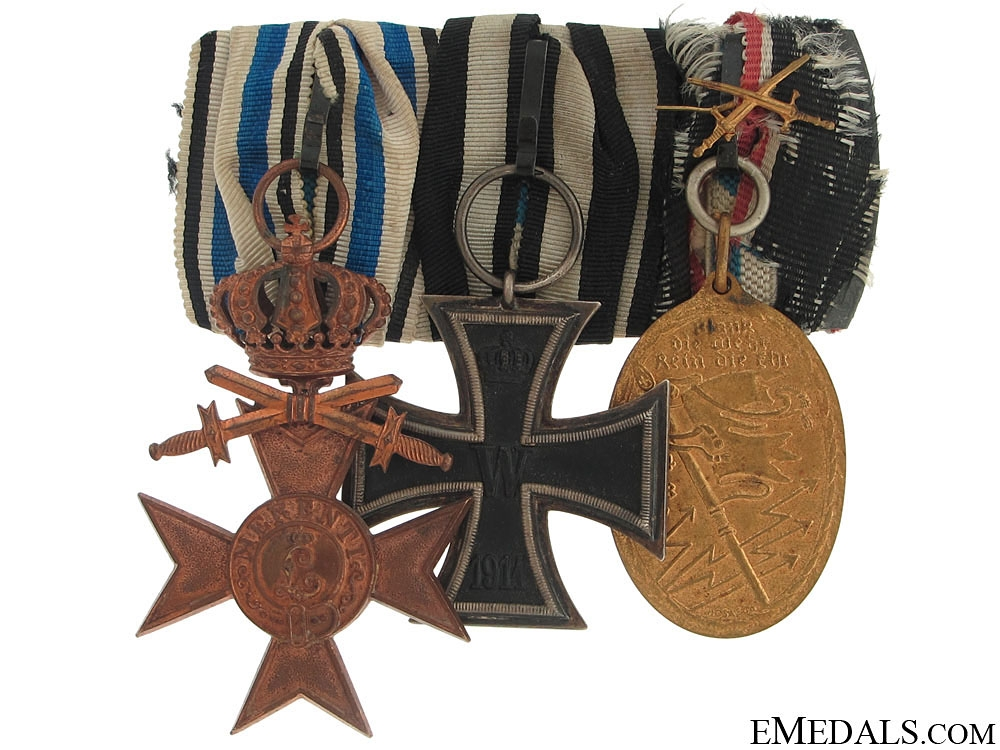 eMedals-WWI Imperial Group of ThreeWWI Group of Three