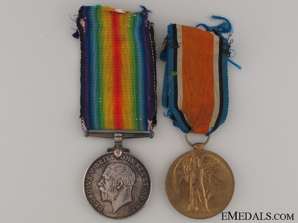 eMedals-WWI Pair - King's Own Scottish Borderers
