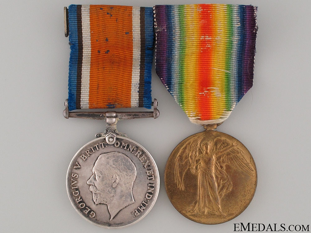 eMedals-WWI Pair to the 8th South African Horse
