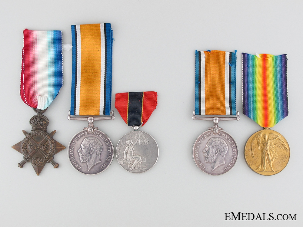 eMedals-WWI Pierce Family British Group