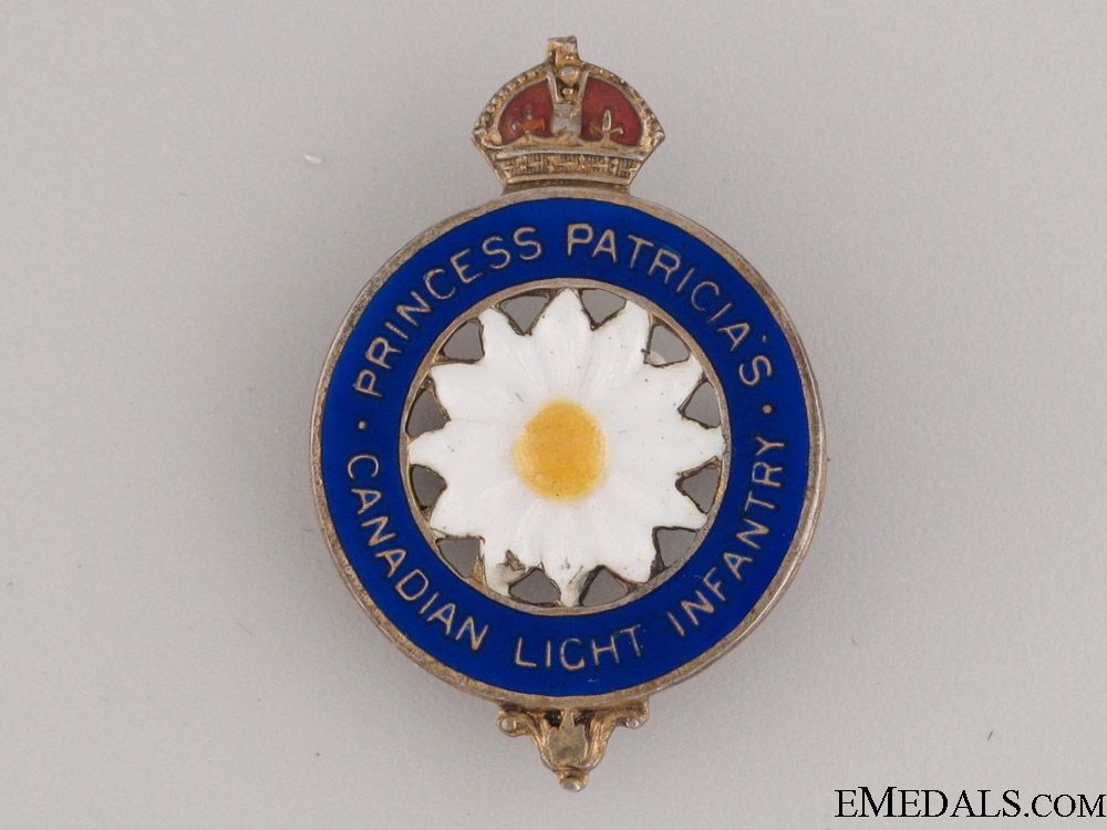 eMedals-WWI Princess Patricia's Sweetheart Pin CEF