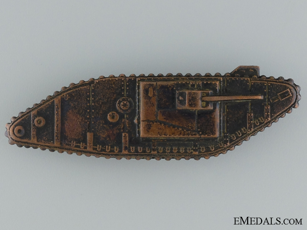 eMedals-WWI Tank Corps Sleeve Badge