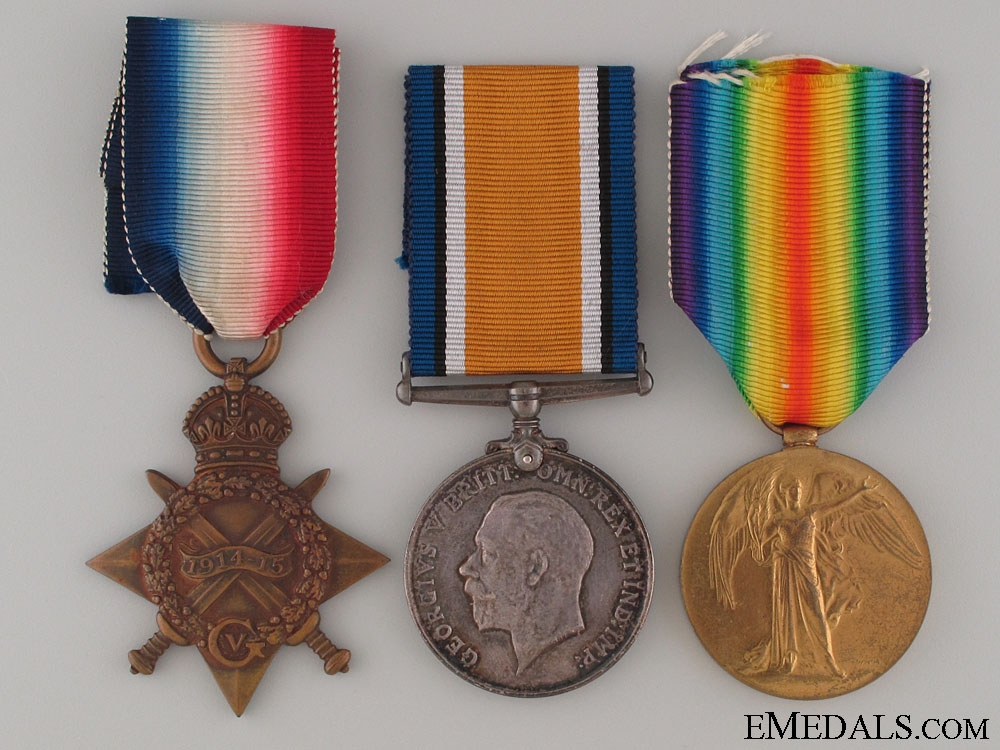 eMedals-WWI Trio to the Royal Navy