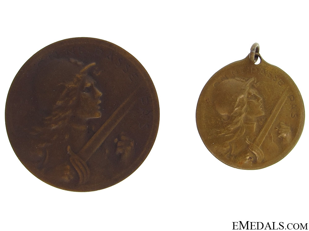 eMedals-WWI Two Verdun Medals