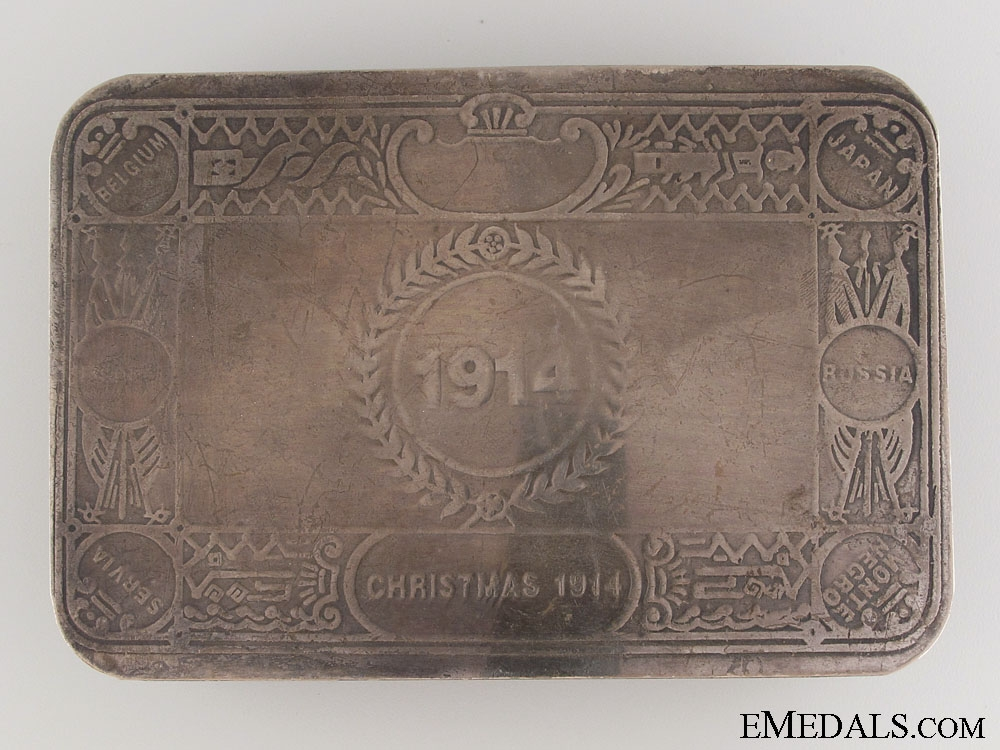 eMedals-WWI Unofficial Princess Mary Tin - Type II