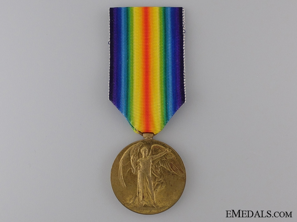 eMedals-WWI Victory Medal to the Canadian Labour Battalion CEF