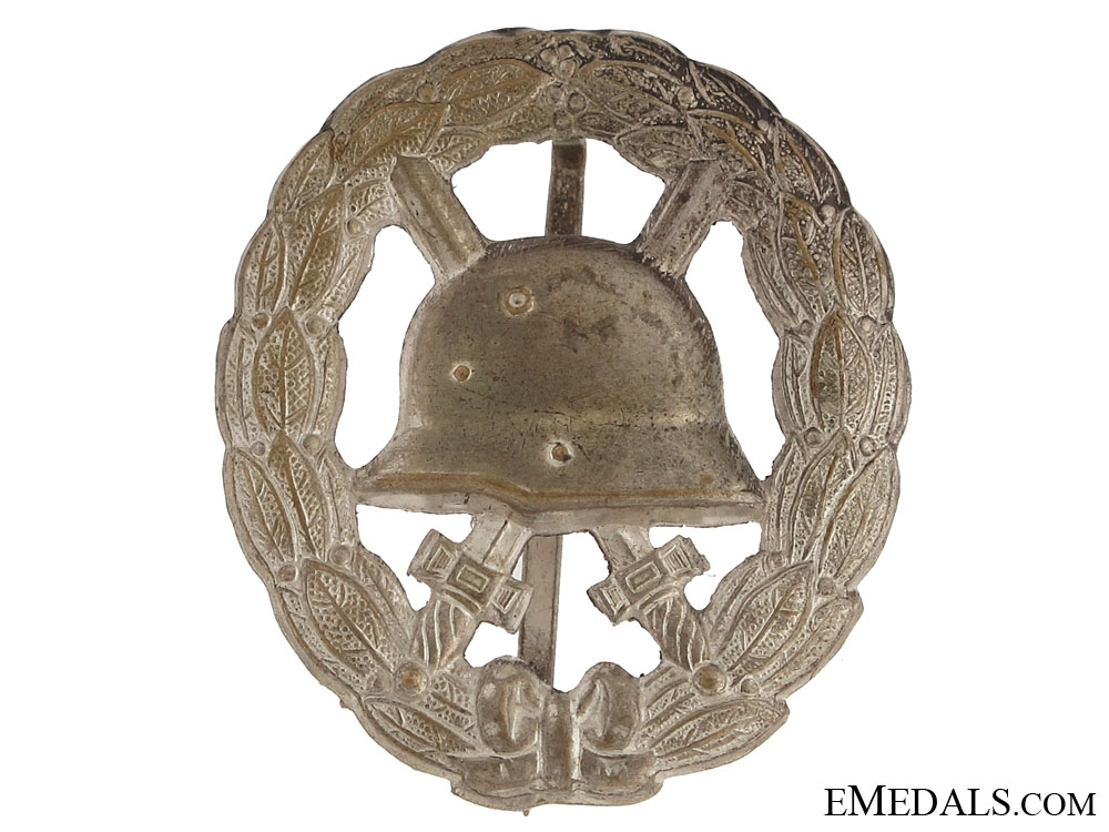 eMedals-WWI Wound Badge – Silver Grade