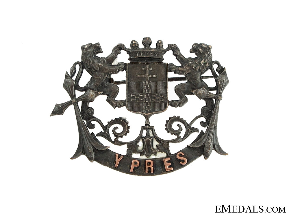 eMedals-WWI Ypres Badge