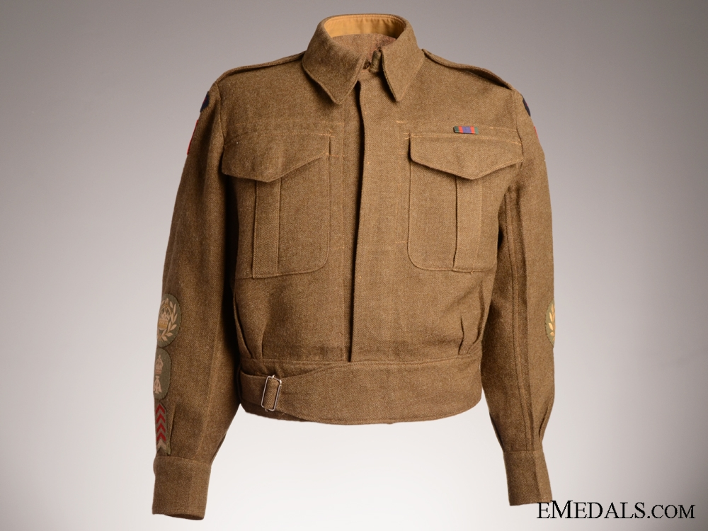eMedals-WWII 48th Highlanders of Canada Battledress Blouse