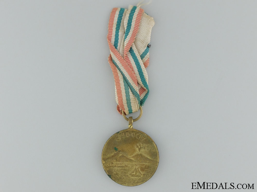 eMedals-WWII 8th Army Commemorative Medal; Naples 1943