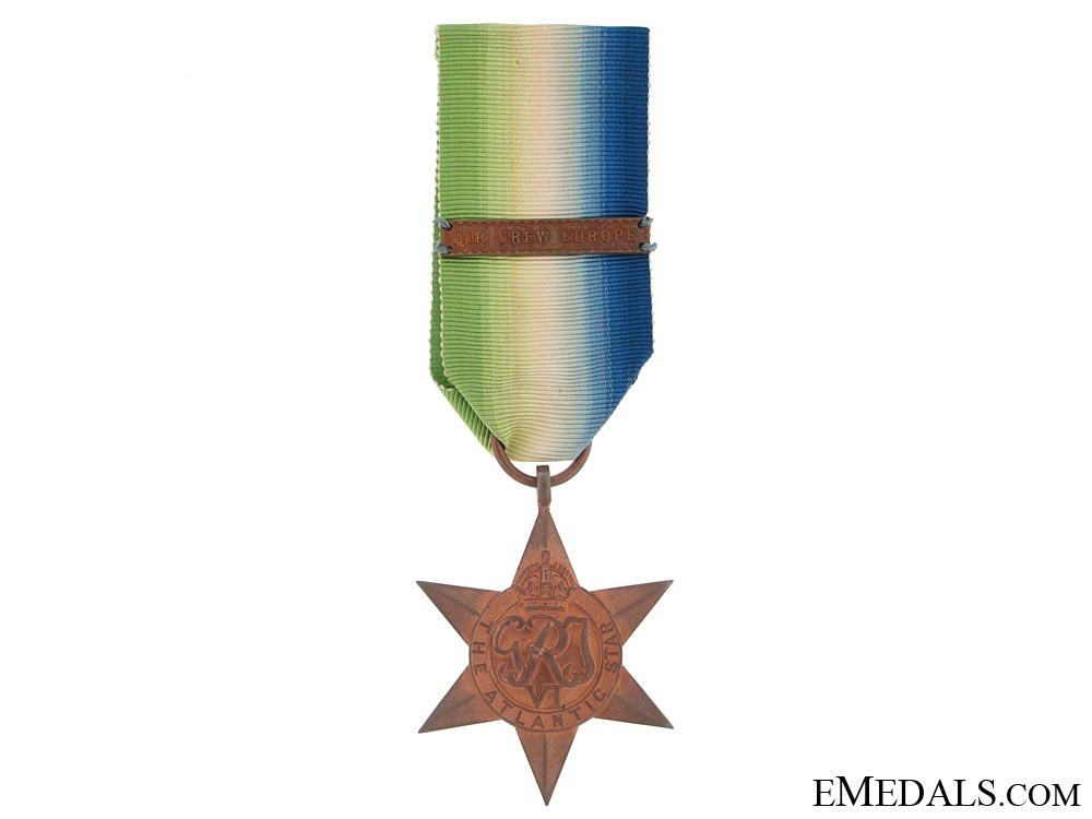 eMedals-WWII Atlantic Star with Bar