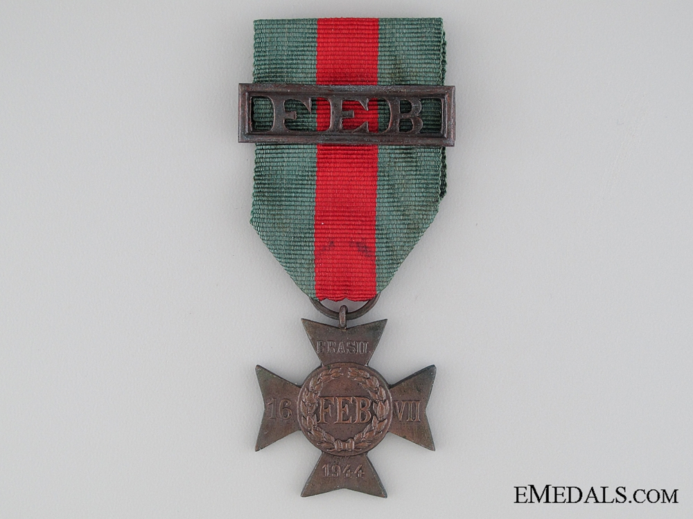 eMedals-WWII Brazilian Expeditionary Force Cross (FEB)
