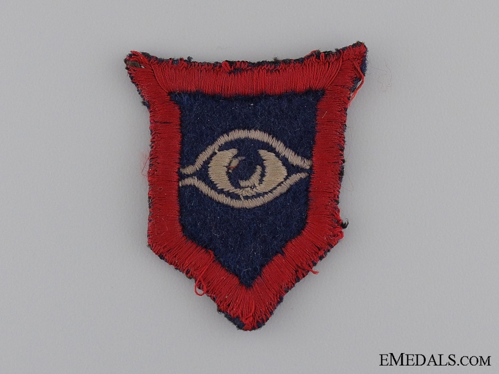 eMedals-WWII British 1st Armoured Guards Division Patch