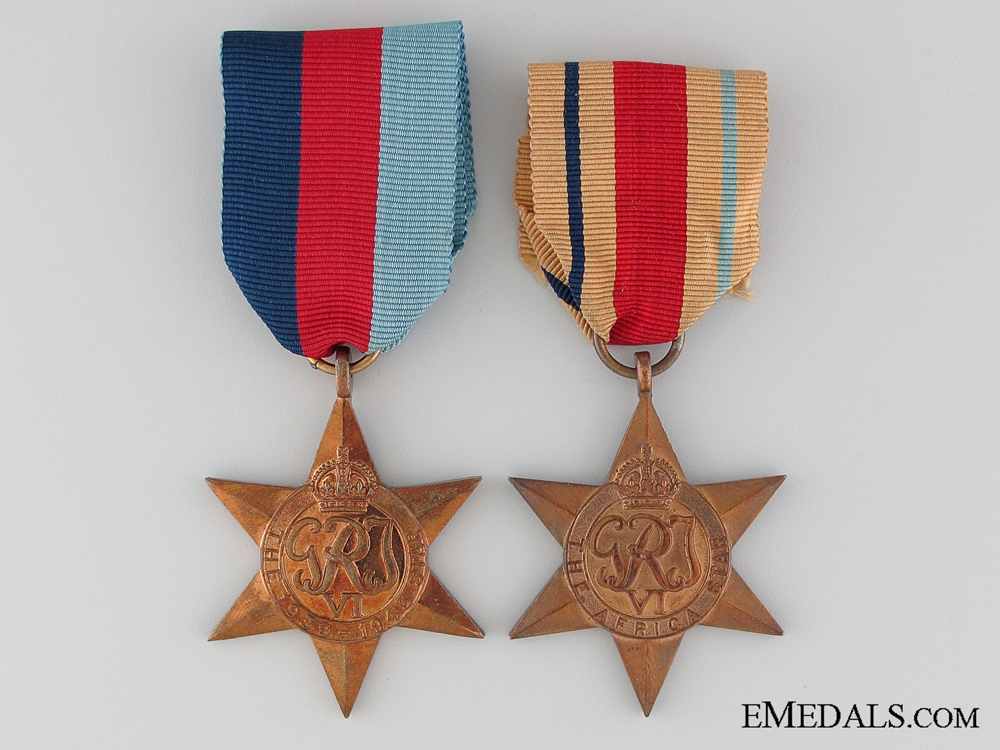 eMedals-WWII British North African Theatre Pair