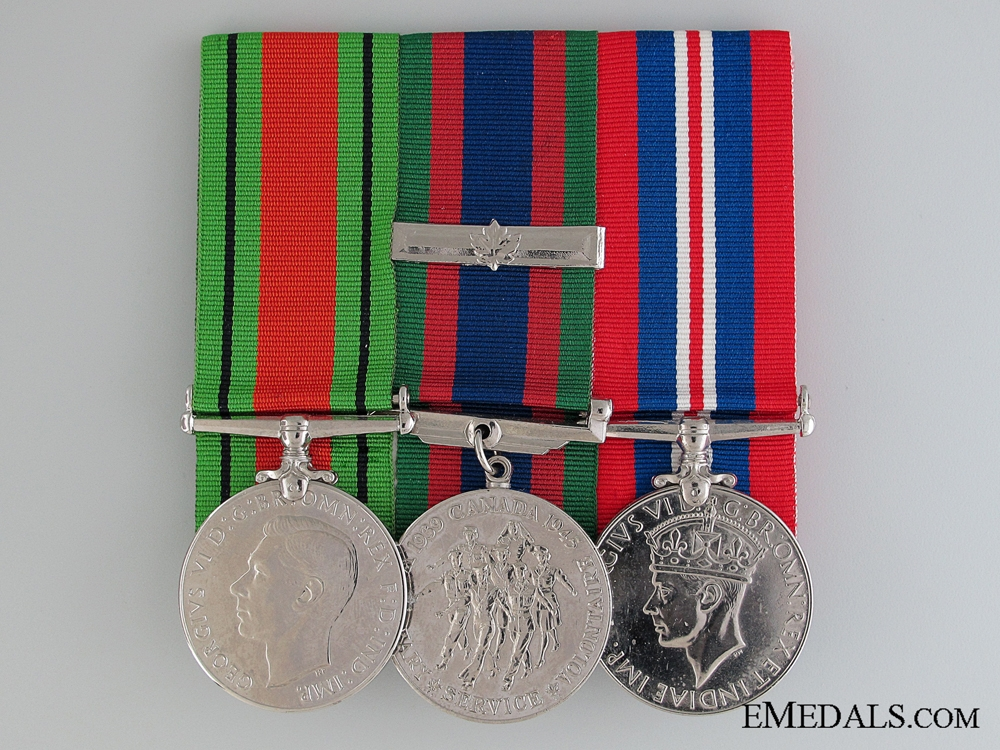 eMedals-WWII Canadian Group to Administrative Writer