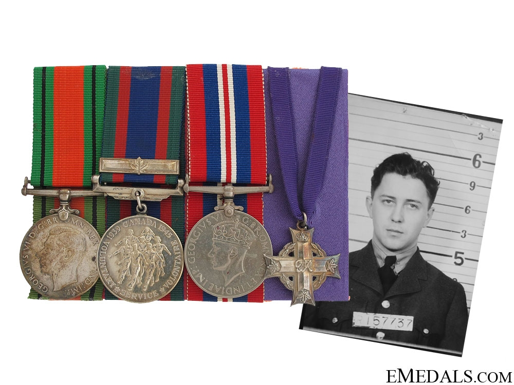 eMedals-WWII Casualty Group to Pilot Michael Antifaev RCAF
