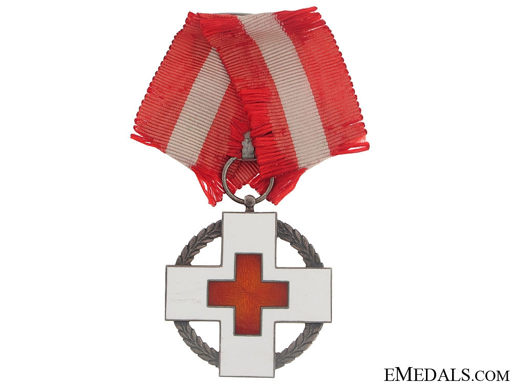 eMedals-WWII Danish Red Cross Decoration 1939-1945