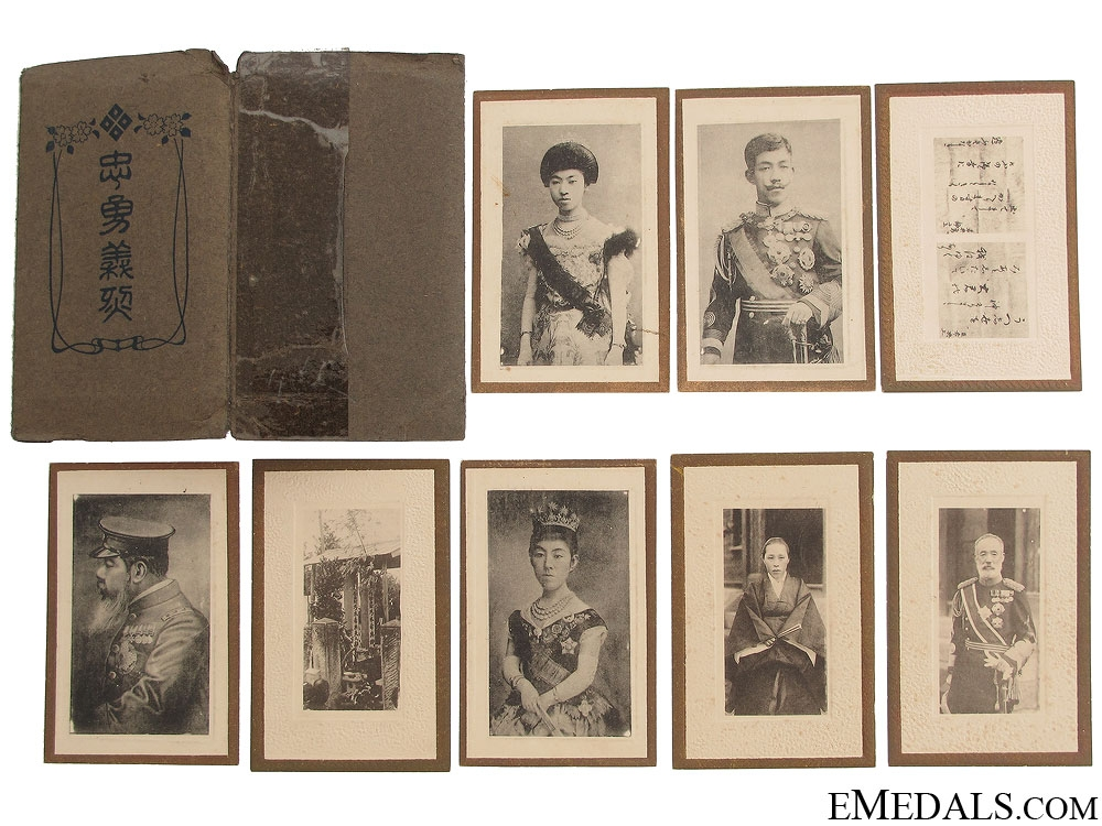 eMedals-WWII Emperor Taisho & Family Photographs