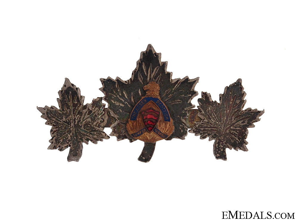 eMedals-WWII Essex Scottish Sweetheart Pin