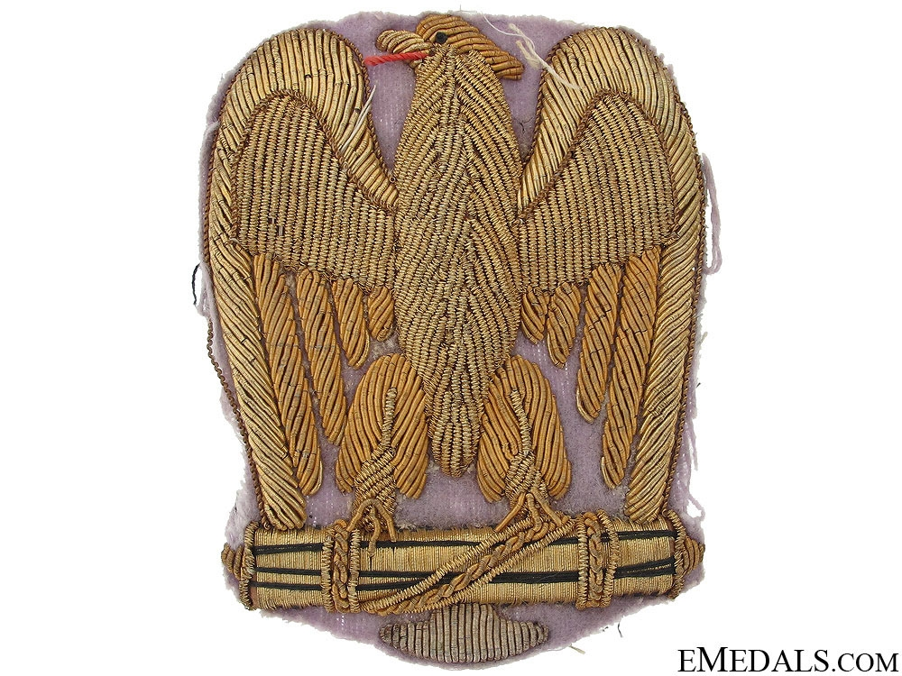 eMedals-WWII Fascist Gold Embroidered Eagle