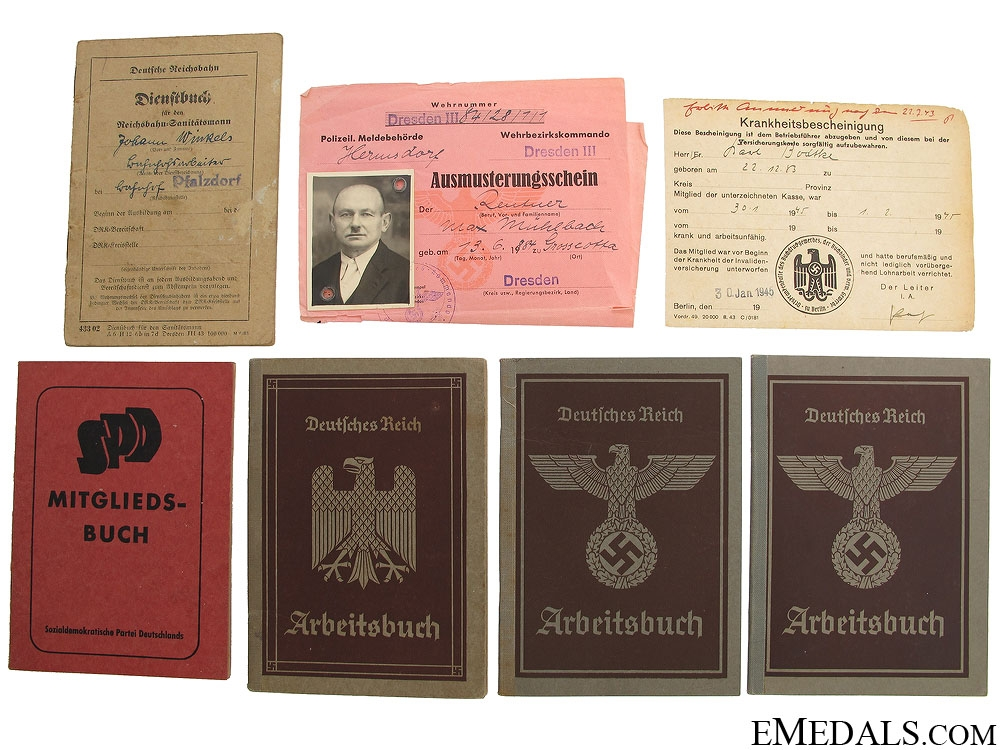 eMedals-WWII German Documents and Passes