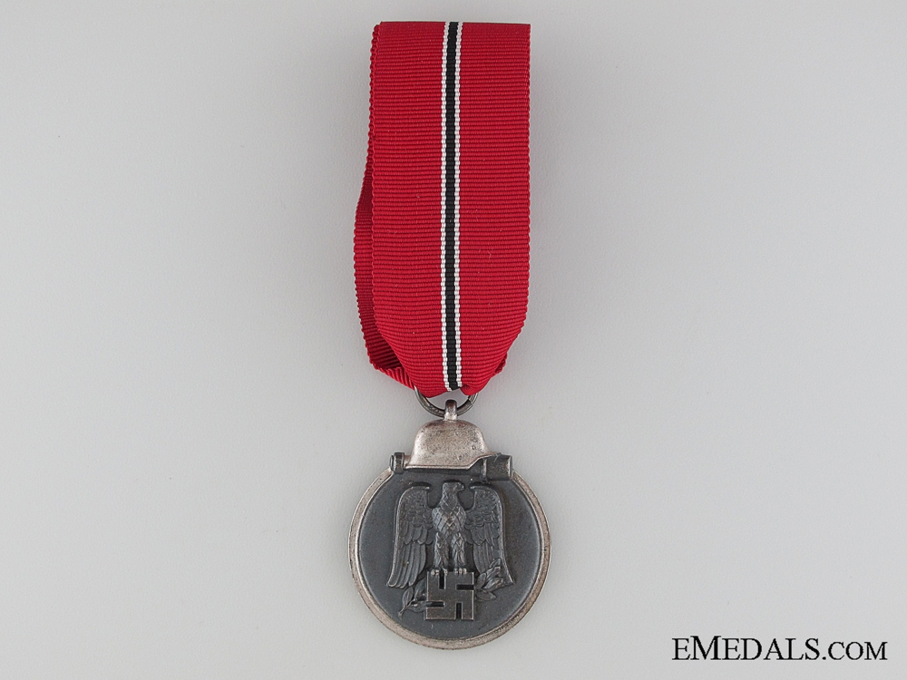 eMedals-WWII German East Medal 1941/42; Marked