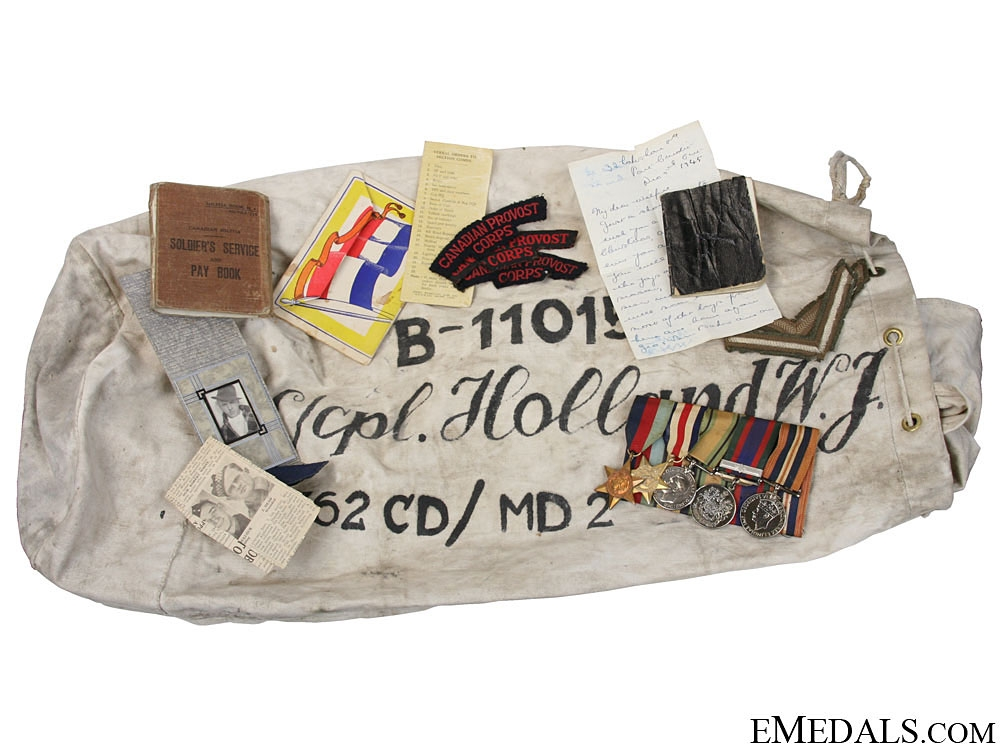 eMedals-WWII Group to Lance Corporal Holland