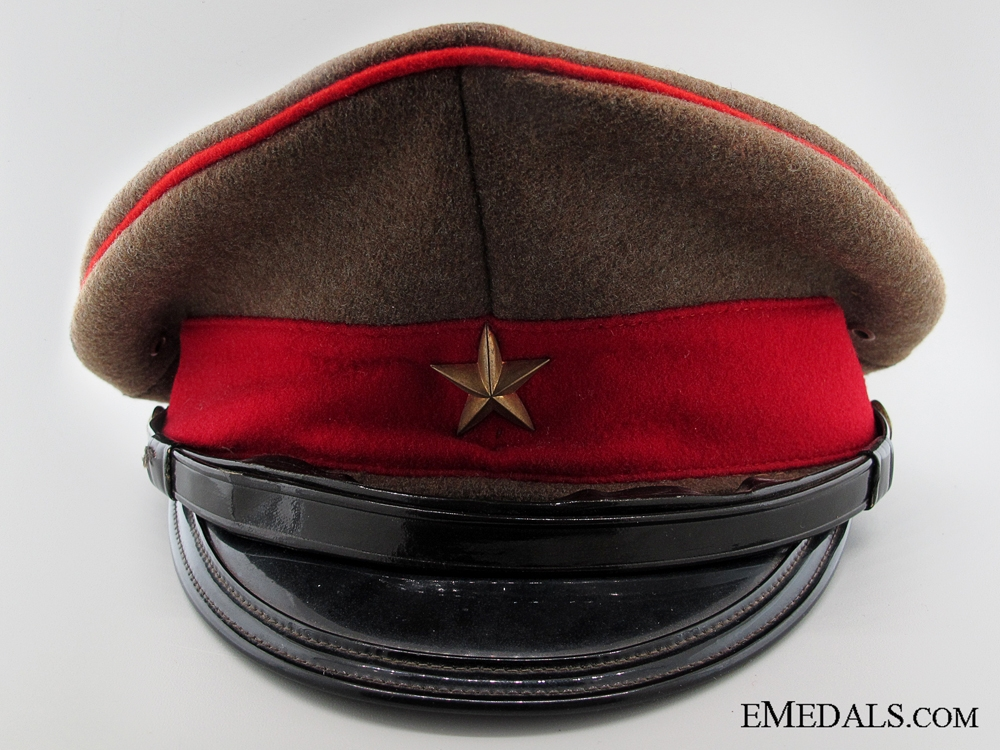 eMedals-WWII Imperial Japanese Officer's Visor Cap