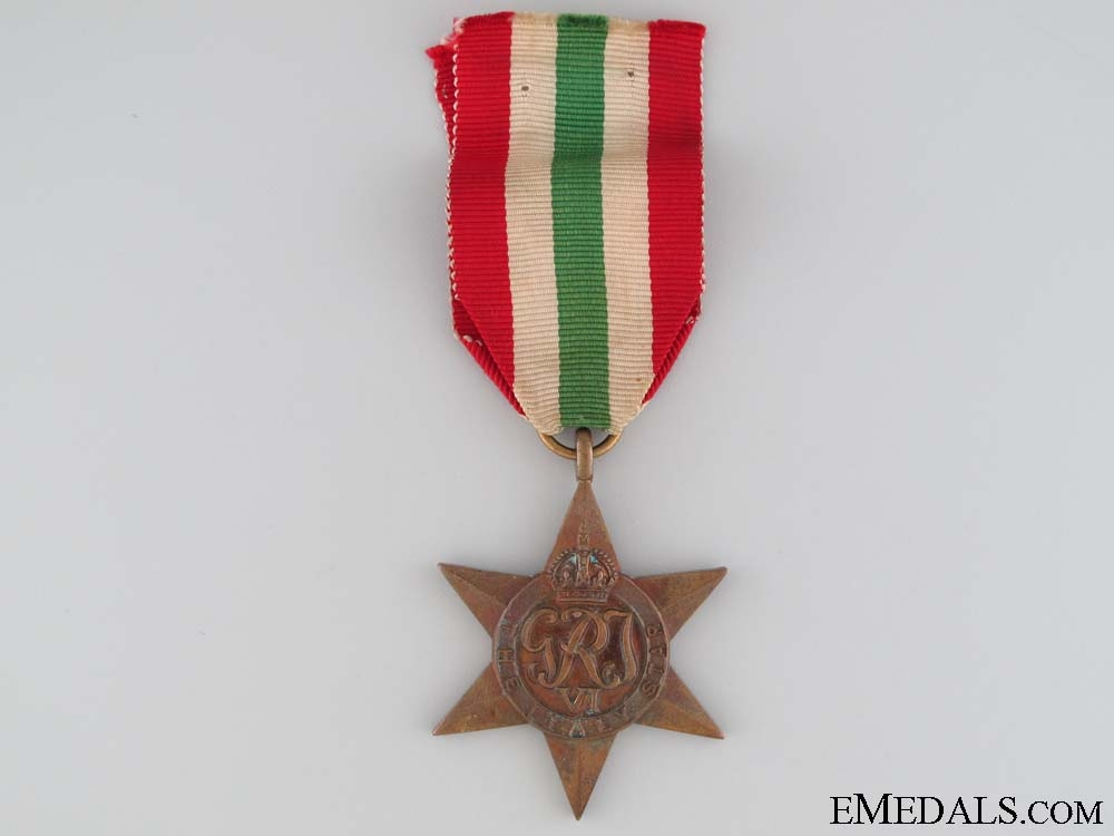 eMedals-WWII Italy Star