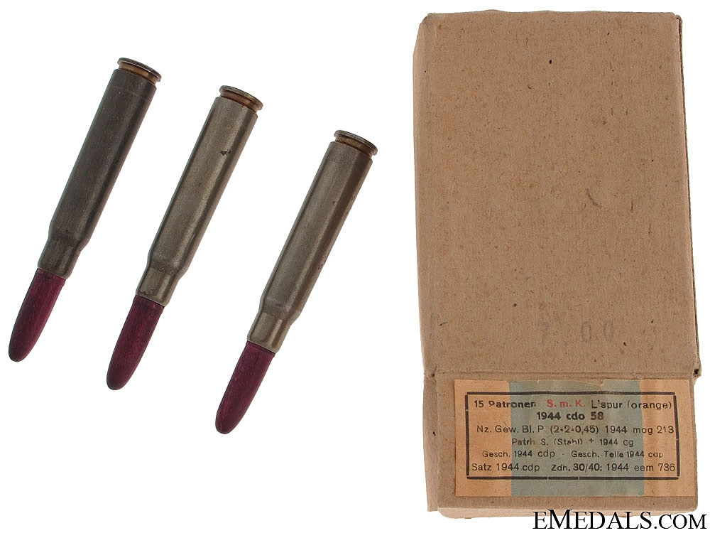 eMedals-WWII K98 Wooden Practice Rounds
