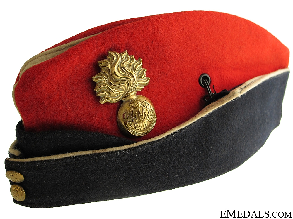 eMedals-WWII Les Fusiliers Mont-Royal Side Cap
