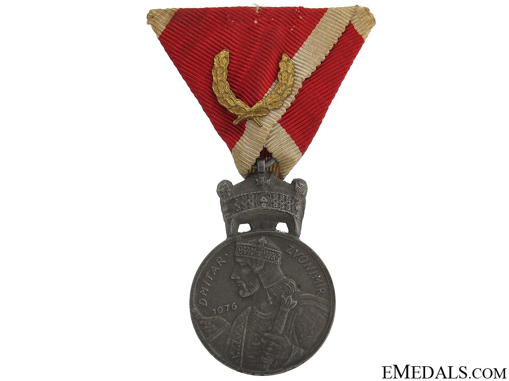 eMedals-WWII Merit Medal of King Zvonimir