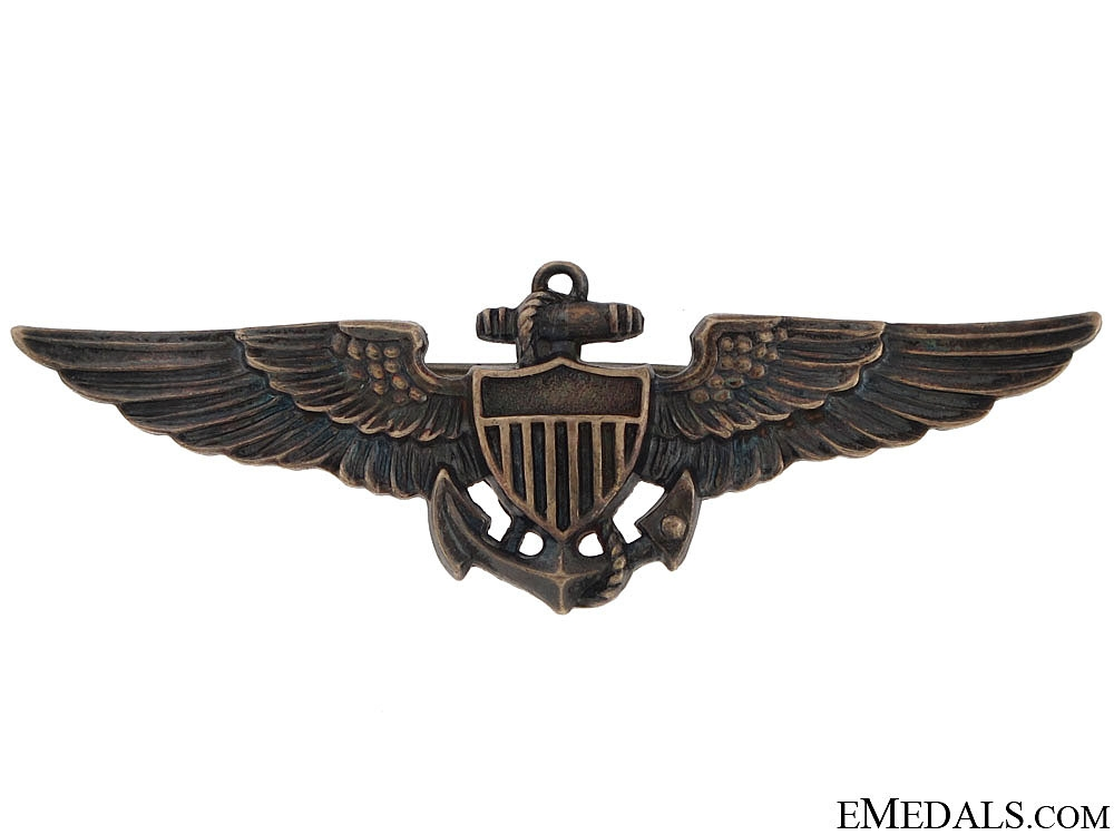 eMedals-WWII US Navy Pilot Wing