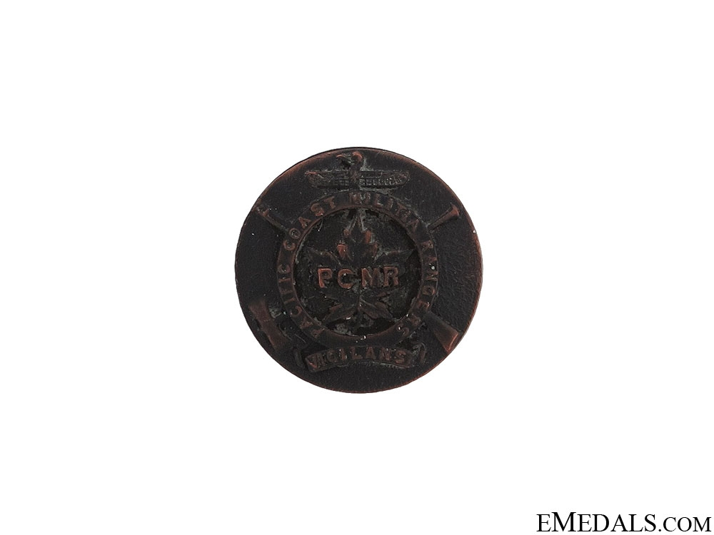 eMedals-WWII Pacific Coast Military Rangers Lapel Pin