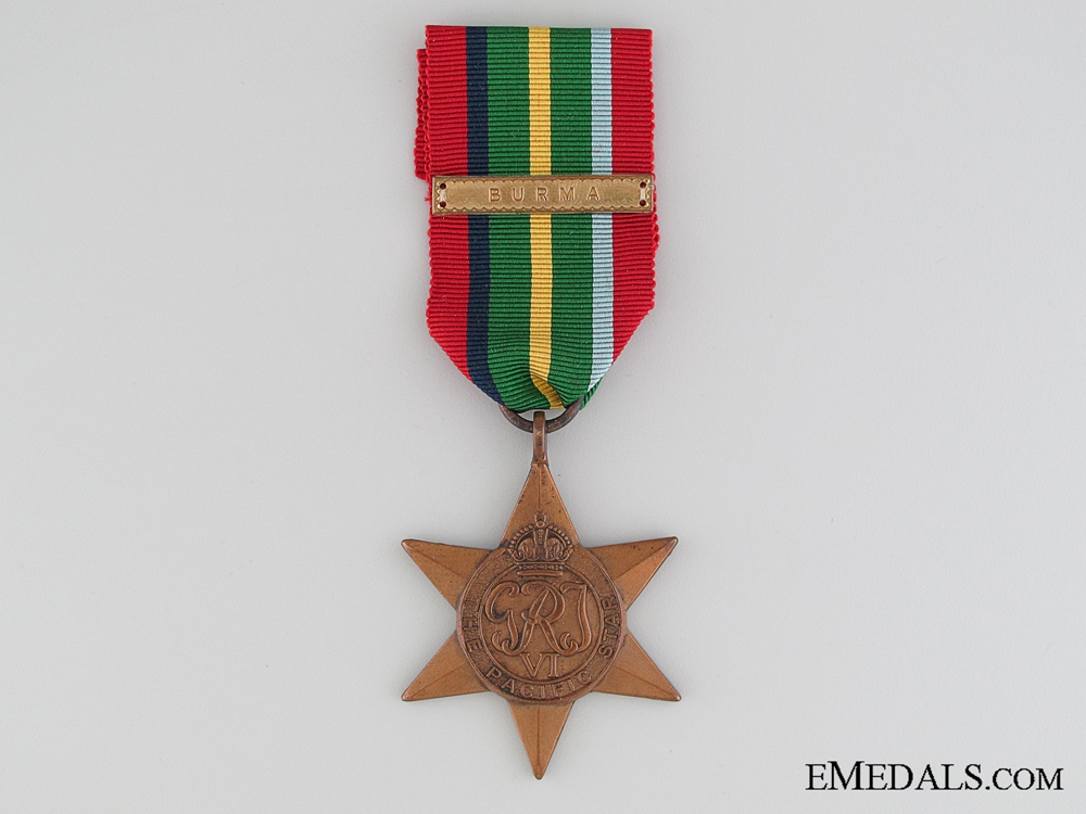 eMedals-WWII Pacific Star